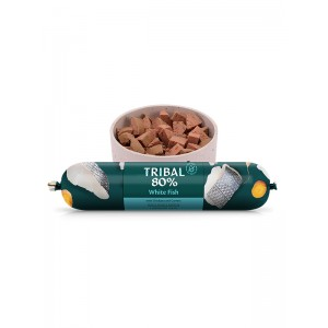 TRIBAL 80% WHITE FISH GOURMET SAUSAGE