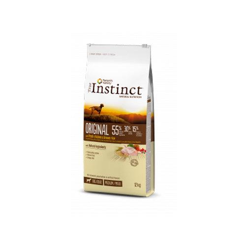 TRUE INSTINCT ORIGINAL FRANGO MEDIUM/MAXI ADULTO