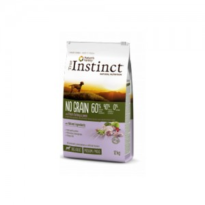 TRUE INSTINCT NO GRAIN TURKEY MEDIUM/MAXI ADULT DOG