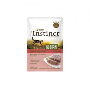TRUE INSTINCT NO GRAIN VACA COM LEGUMES - GATO ADULTO