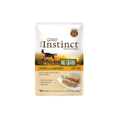 TRUE INSTINCT NO GRAIN FRANGO COM LEGUMES - GATO ADULTO