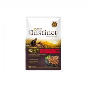 TRUE INSTINCT HIGH MEAT VACA E LEGUMES - GATO ADULTO