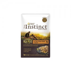 TRUE INSTINCT HIGH MEAT FRANGO CAMPO COM LEGUMES - GATO ADULTO