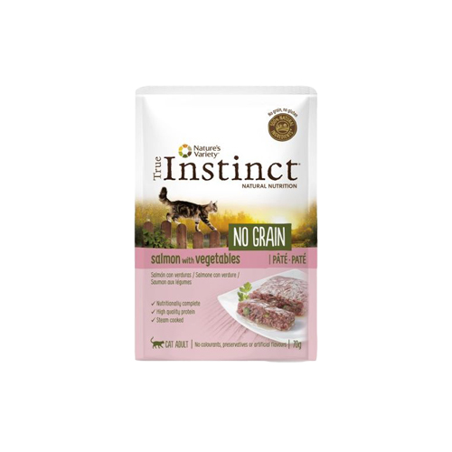 TRUE INSTINCT NO GRAIN SALMÃO COM LEGUMES - GATO ADULTO