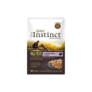 TRUE INSTINCT HIGH MEAT PERU TENRO E LEGUMES - GATO ADULTO