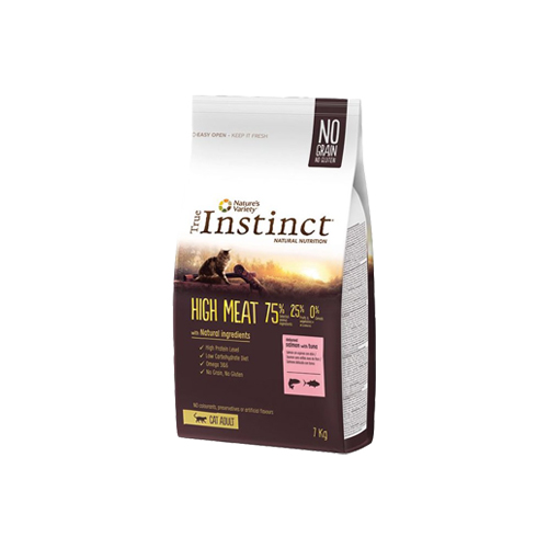 TRUE INSTINCT CAT HIGH MEAT ADULT -  FRANGO
