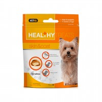 HEALTHYTREATS SKIN & COAT FOR DOGS AND PUPPIES- VETIQ