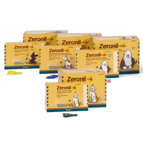 ZERONIL CÃES SPOT-ON - 30 PIPETAS
